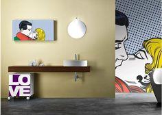 Tocador del baño Inspiración: Stylish vanidades cuarto de baño contemporáneo