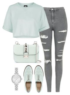"""""""August 2016"""" by oliviasfashionideas ❤ liked on Polyvore featuring Topshop, ASOS, Valentino and Kate Spade"""