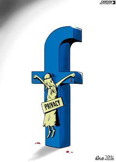Privacy. Today's cartoon by Dino: http://www.cartoonmovement.com/cartoon/27465
