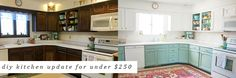 Before & After: A Bright, Affordable DIY Kitchen Update – Holland Avenue Home