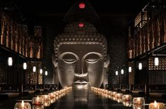 Stunning Installations by Joy-Chou Yi – the House of Grace Buddha Statue Home, Buddha Art, Buddhist Shrine, Art Restaurant, Architectural Lighting Design, Buddha Garden, Chinese Element, Lighting Concepts, Asian Design