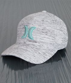 Hurley Icon Blender Stretch Hat - Men's Hats in Salt Work Grey Hooey Hats, Hurley Clothing, Fedora Outfit, Country Hats, Cowgirl Shirts, Western Hats, Cute Hats, Snapback Hats, Trucker Hats