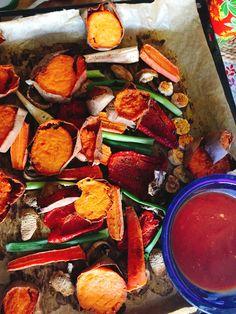 Grilled Veggies im Ofen