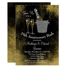 Shop Champagne Bachelorette Party Invitation Black Gold created by Flospaperie. 50th Birthday Party Invitations, Elegant Birthday Party, Anniversary Invitations, Bachelorette Party Invitations, Rehearsal Dinner Invitations, 60th Birthday, Birthday Celebration, Wedding Anniversary, Birthday Ideas