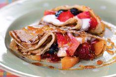 Špaldové palačinky Pancakes, French Toast, Breakfast, Food, Slim, Morning Coffee, Eten, Meals, Pancake