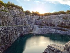 Bellwood Quarry, Atlanta GA - one of several places in Georgia that many Georgians have never visited and should!