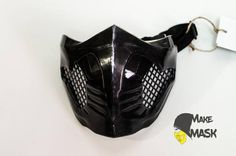 Items similar to Cosplay Replica Mask Scorpion Mortal Kombat, Color LEDs, Different sizes, Different color on Etsy Mortal Kombat Mask, Scorpion Mortal Kombat, Full Face Mask, Black Mask, Cosplay Costumes, Leather Backpack, Trending Outfits, Unique Jewelry, Suits