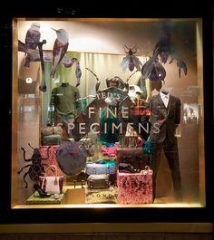 Retail Design Blog — Ted Baker Windows Fall 2015, London - UK