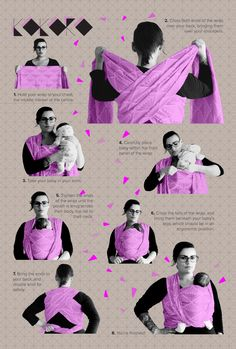 wrap them up and look like a badass :: by kokoro textiles (Diy Baby Wrap) Baby Carrying, Baby On The Way, Baby Wraps, Everything Baby, Baby Needs, Baby Time, Baby Fever, Kids And Parenting, Natural Parenting