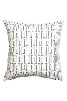 Poszewka na poduszkę - Biały - HOME | H&M PL 1