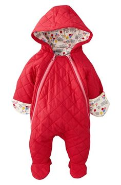 Mini Boden Quilted Jersey Bunting (Baby Girls) available at #Nordstrom