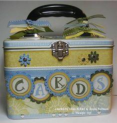Mom's card tin