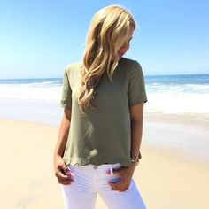 Everyday Blouse In Olive