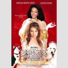 Lauren Cohan and Sonequa Martin-Green in Princess Diaries 2 | twdnotofficial (IG)   Tags: #twd #thewalkingdead #walkingdead #twdparodyposters #laurencohan #sonequamartingreen #maggiegreene #sasha