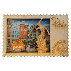 Dřevěná lednice magnet Gdaňsk staré město. Dřevěné lednice magnet ukazující pohled na staré město v Gdaňsku. #gdaňsk #neptunium #magnet #magnetlednice Magnets, Vintage World Maps, Old Town, Je T'aime, Woodwind Instrument