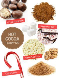#hotcocoa #cocoa #chocolate #bar #cocoabar #holidays #christmas #party #cocoastation