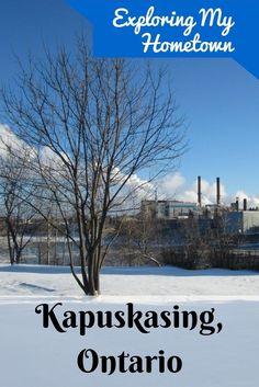 Visit the far north in Canada - Kapuskasing, Ontario. #Canada #Ontario
