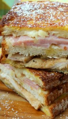 The Best-Ever Monte Cristo Sandwich with Mornay~