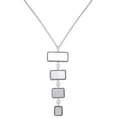 Dezra Necklace in Silver