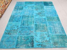 $645 72 x 108 inches YOU CAN ORDER all sizes  Vintage Patchwork by turkishkilimmarket