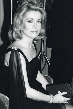 Deneuve: A Style Icon Through the Years In honor of Catherine Denevue's birthday, we look at her perfect Parisian style over the years.In honor of Catherine Denevue's birthday, we look at her perfect Parisian style over the years. Catherine Deneuve, Harpers Bazaar, Christian Vadim, Emmanuelle Béart, Isabelle Adjani, Moda Vintage, French Beauty, French Actress, Glamour