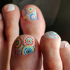 Nail Designs for Toes That Will Make You Feel Zen ★ See more: https://naildesignsjournal.com/nail-designs-for-toes/ #nails