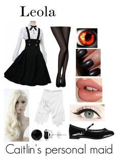 """""""Black Butler (Oc) redo"""" by ironically-a-strider21 ❤ liked on Polyvore featuring Allurez, Pretty Polly, Repetto, Charlotte Tilbury and Bobbi Brown Cosmetics"""