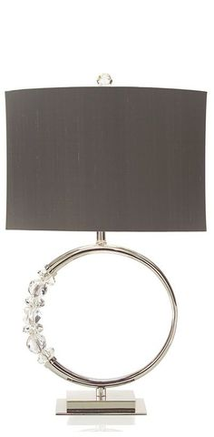 Faux Diamonds Eternity Ring Table Lamp