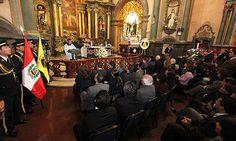 Hermandad del Señor de los Milagros ofreció misa de salud por el Concejo Metropolitano