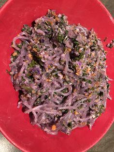 Vegan purple AIP pasta - AIP4life Vegan Pasta, Red Cabbage, How To Run Longer, Meal Prep, Vegan Recipes, Vegetables, Purple, Eat, Food