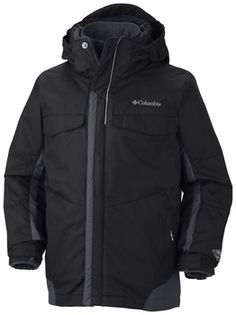 Columbia Bugaboo Interchange Boys Jacket