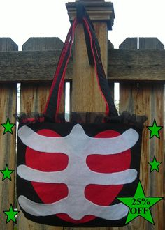 Hey, I found this really awesome heart & ribcage bag Etsy listing at https://www.etsy.com/listing/66838570/25-off-sale-punk-lolita-heart-and-ribs