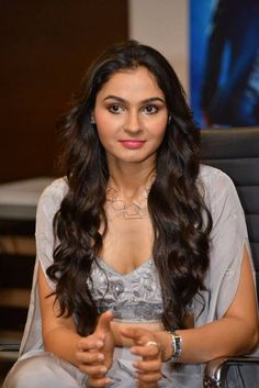 Actress Andrea Jeremiah hot cleavage images are captured to the camera audio event. Andrea Jeremiah looks Mirchi hot. Beautiful Girl Indian, Most Beautiful Indian Actress, Beautiful Girl Image, The Most Beautiful Girl, Beautiful Saree, Beautiful Women, Beauty Full Girl, Beauty Women, Stylish Girl Pic New