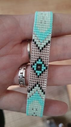 Loom beaded bracelet / Beaded bracelet made with by Suusjabeads