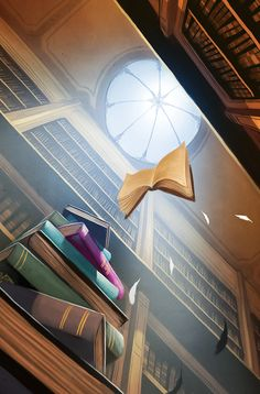 Dixit 3 - Carte 6. This looks like a scene out of Hogwarts - want to frame some dixit cards - beautiful art