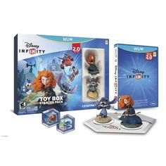 Disney Infinity: Toy Box Starter Pack 2.0 Edition (nintendo Wii U)