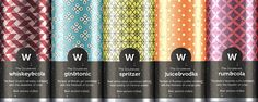 Doublevee Mixed Drinks (Student Project) on Packaging of the World - Creative Package Design Gallery