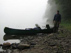 adkventures:  Catskills on Flickr.Foggy morning on the Delaware River in the Catskills.