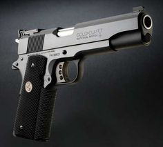 Colt 1911...The other one that fits me best.  Can't argue with a .45!