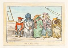 From the West Indies - original engraving by George Cruikshank.