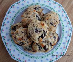 Gourmet Girl Cooks: Chocolate Chip Cookies w/ Walnuts -- My Favorite Grain-free Chocolate Chip Cookies!