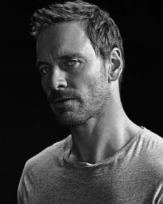 The Michael Fassbender stare that goes through the middle of my soul