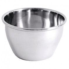 Dariole à bord roulé en inox 18/10 finition miroir poli. Compatible lave-vaisselle. Dimensions : 5(H)cm. Base: 5(diamètre)cm. Haut: 7(diamètre)cm.