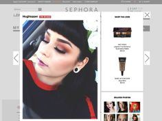 "Sephora Launches 'Beauty Board' Social Shopping Platform - Sephora is launching its own take on social shopping with Beauty Board, a Pinterest-meets-Instagram photo-heavy platform that encourages users to share and tag their ""beauty looks."" Social shopping is a big buzzword these days, as online retailers try to get consumers to move beyond catalog-style ""shop and click"" experiences to something more interactive and communal."