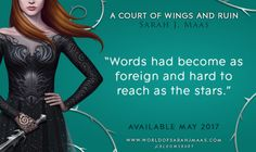 Warning: you may lose all words after reading ACOWAR. Have you preordered your copy?