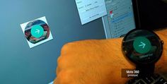 [Oh My God Becky] The Moto 360 Looks Enormous In This 'Android Wear Design Story' Post You Might Want To Read Maybe