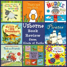Usborne Book Review - Looking for some awesome books for babies, toddlers, and up? Usborne is where it's at! - House of Burke