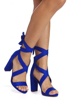 677d5c8630 HEEL YEAH!!! Gorgeous Heels in Beautiful Cobalt Blue | WOMEN'S SHOES ...