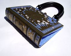 I am starting to see these everywhere and I want one! A purse made from a book!
