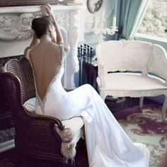 These smoldering, dizzyingly beautiful gowns are like nothing you've ever seen before. (Photo and gown by Berta)